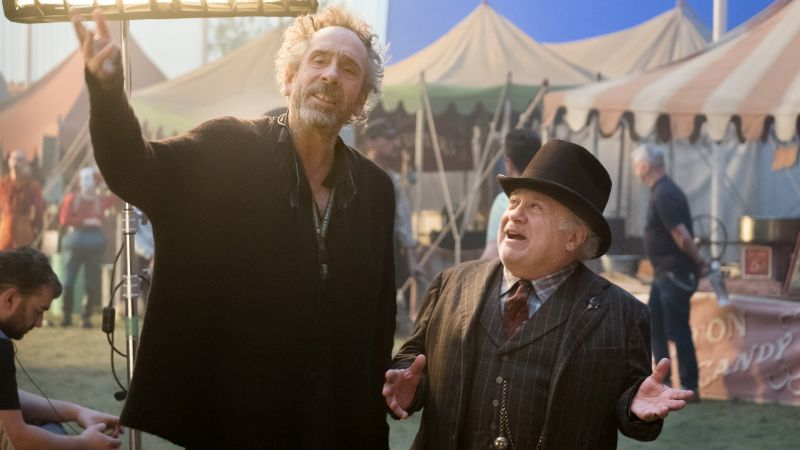 Danny DeVito on Reuniting with Tim Burton for Dumbo