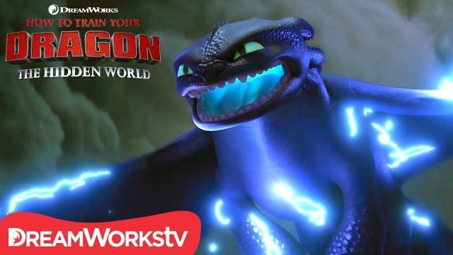 Toothless Powers Up in New The Hidden World Clip