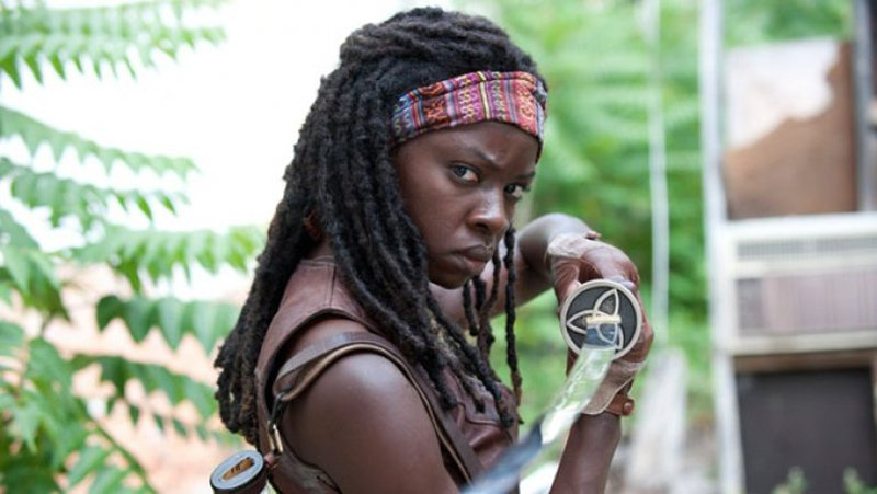 Danai Gurira Leaving The Walking Dead