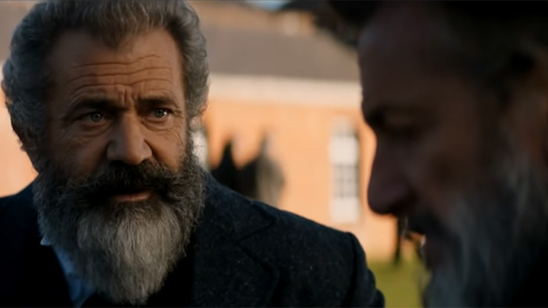 Mel Gibson and Sean Penn Are The Professor and The Madman in First Trailer