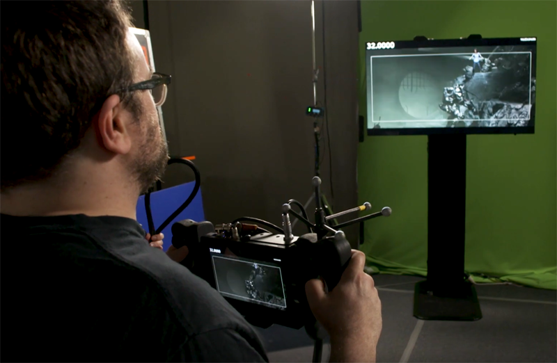 CS Video: Filming a Virtual Alita: Battle Angel Action Scene