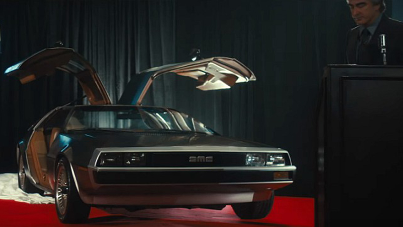 Framing John DeLorean trailer