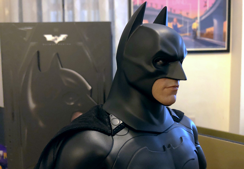 Batman Begins Hot Toys Unboxing on Batman's 80th Anniversary