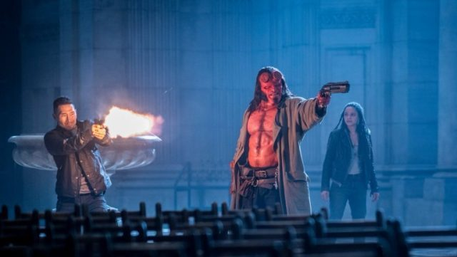 New Hellboy Photos and Posters Released