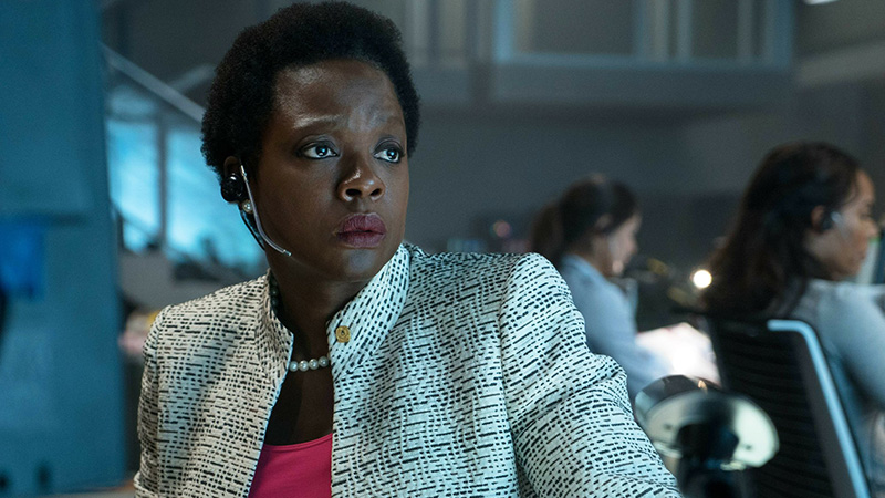 Viola Davis Reprising Amanda Waller in The Suicide Squad