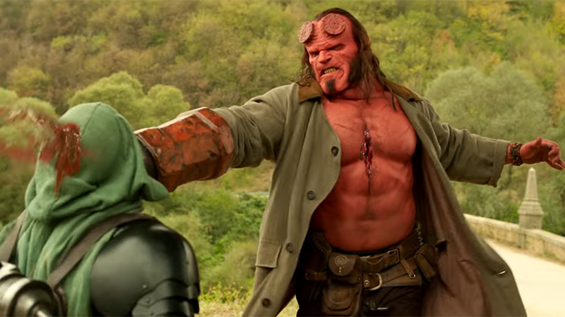 Get Ready For A Hard R-Rating With New Hellboy Teaser