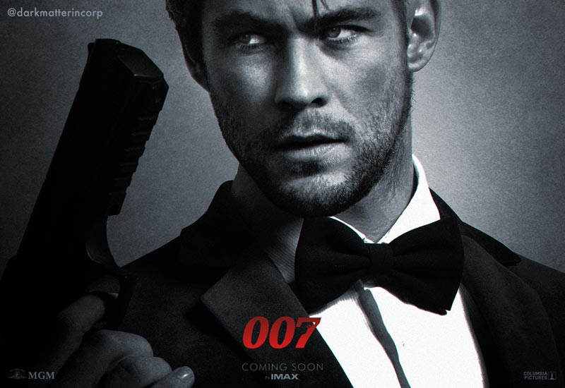 POLL: Should a Famous Actor Be the Next James Bond?