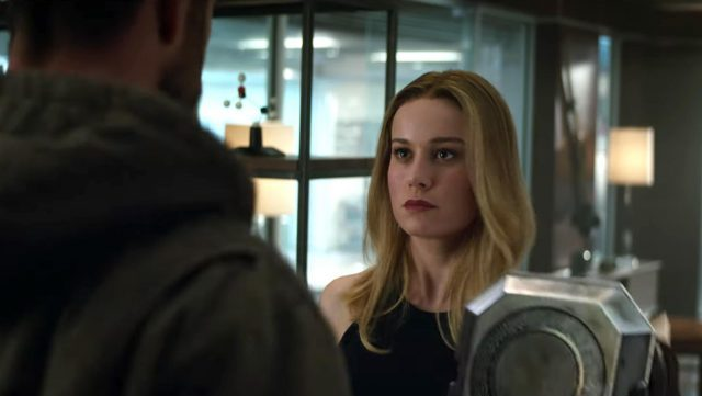 Avengers: Endgame Clip Features Captain Marvel at the Headquarters