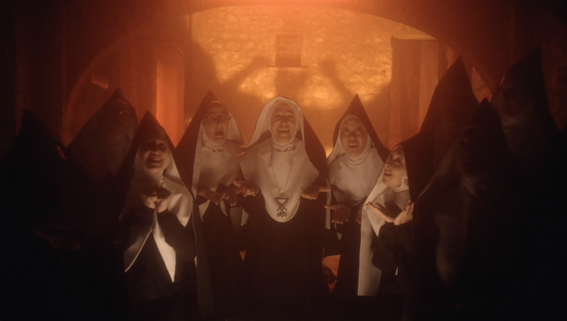 Good Omens: singing satanic nuns