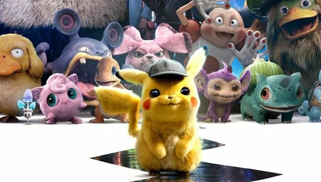 Detective Pikachu Leads the Pokemons in New International Posters