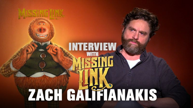 CS Video: Zach Galifianakis On Relating to Sasquatch in Mr. Link