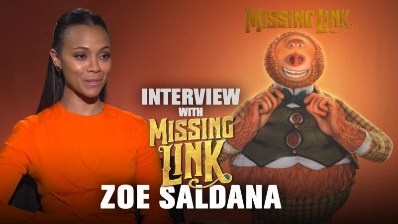 CS Video: Missing Link's Zoe Saldana On 'Beautiful' Stop Motion Films
