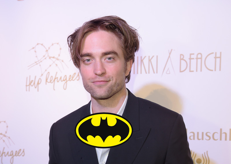 Pattinson and Hoult Screen Testing for THE BATMAN