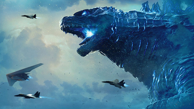 King of the Monsters banner posters