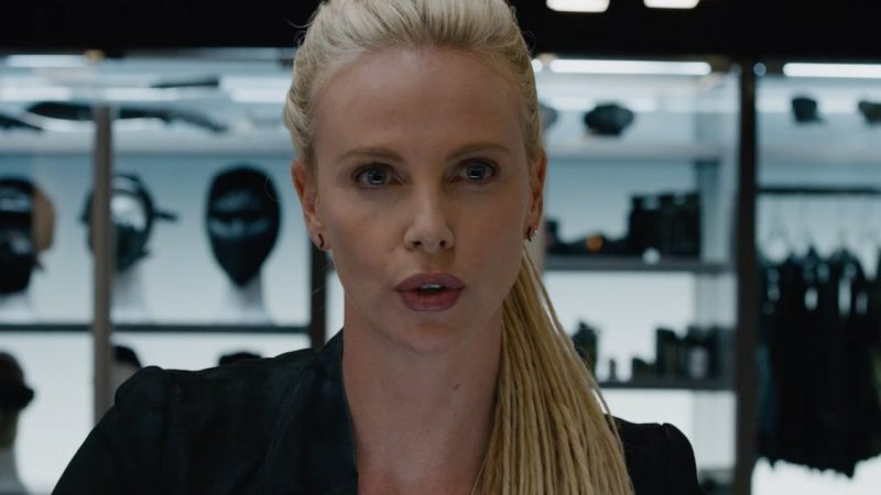 Charlize Theron for Fast and Furious