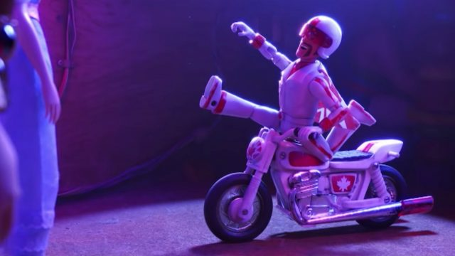 Duke Caboom Makes the Perfect Poses in New Toy Story 4 Clip