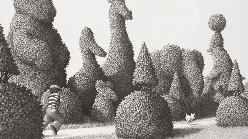Fox/Disney Acquire Chris Van Allsburg's The Garden of Abdul Gasazi