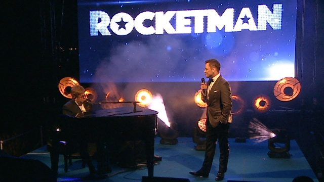 Watch Elton John & Taron Egerton's Surprise Performance of Rocket Man