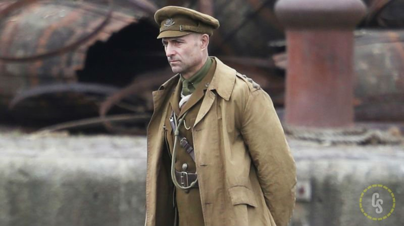 1917 Set Photos with Mark Strong and Director Sam Mendes