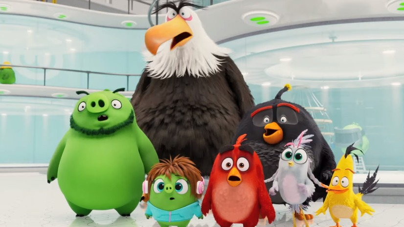 The Angry Birds Movie 2 Final Trailer: Enemies Become Frenemies