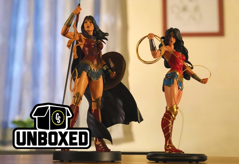 CS Unboxed: 2 New Wonder Woman Statues From DC Collectibles
