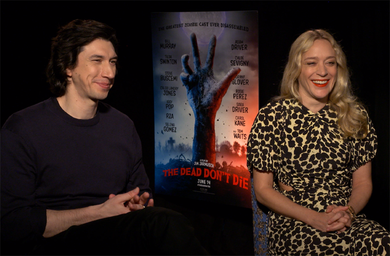 CS Video: Adam Driver & Chloë Sevigny on The Dead Don't Die
