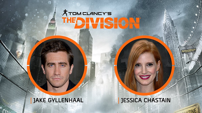 Netflix Buys 'Tom Clancy's The Division' Starring Jessica Chastain and Jake Gyllenhaal