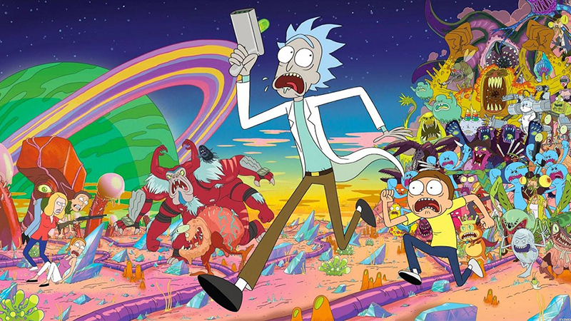 Rick and Morty Season 4 Episode to Screen at Adult Swim Festival