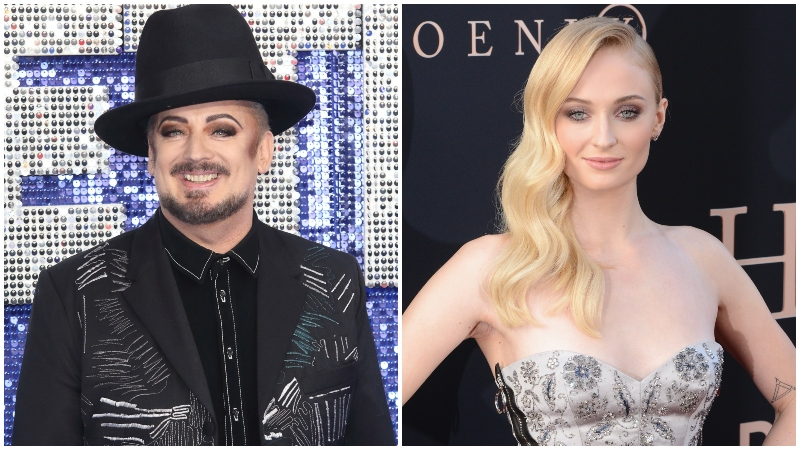 Boy George Wants Sophie Turner to Star In His Biopic