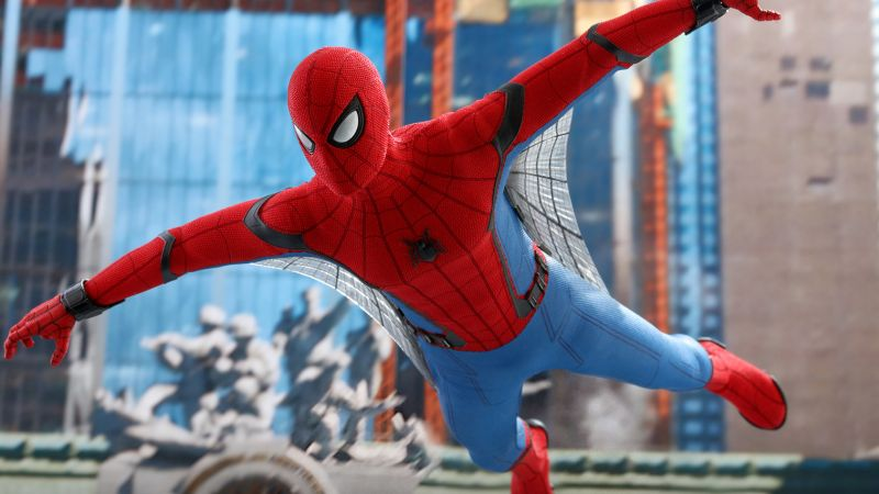 Spider-Man: Far From Home Hot Toy Swings In