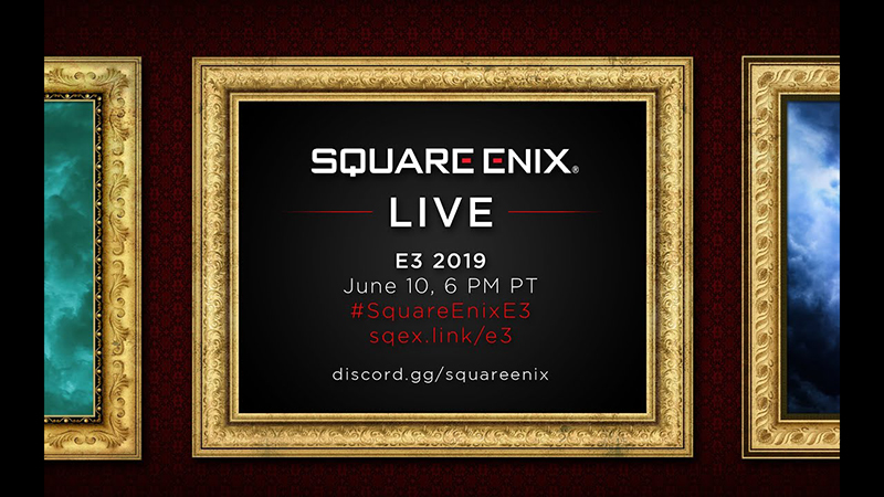 Watch the Square Enix E3 2019 Press Conference Live Stream