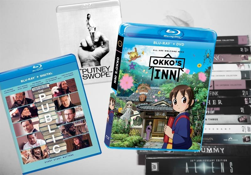 July 2 Blu-ray, Digital and DVD Releases