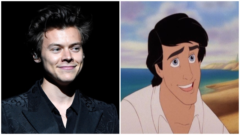 Harry Styles in Talks to Play Prince Eric in The Little Mermaid
