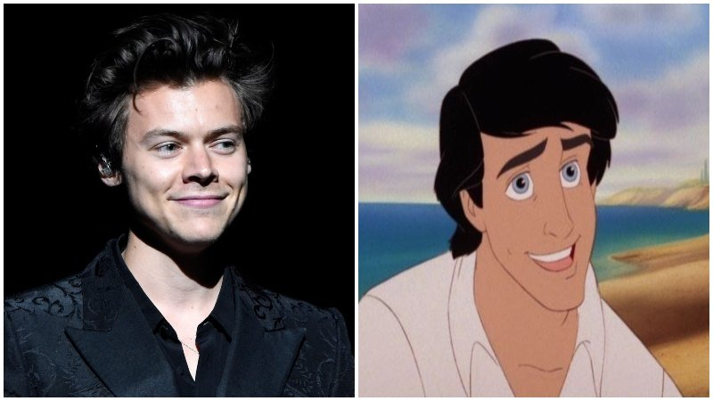 Harry Styles Rumored to Play Prince Eric in Live-Action Little Mermaid