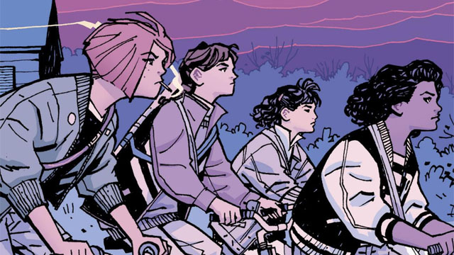 Vaughan & Chiang's PAPER GIRLS Picked Up By AMAZON