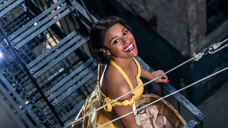 Ariana DeBose as Anita in 'West Side Story' Movie