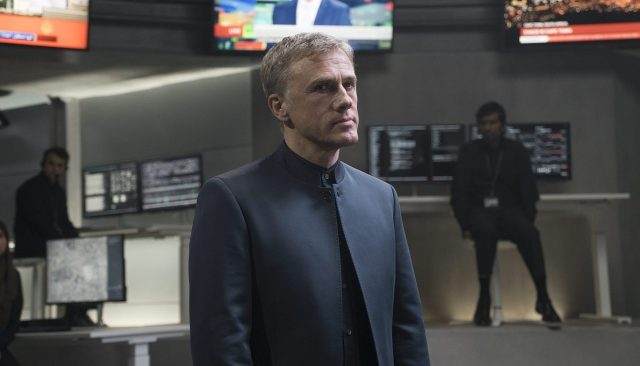 Christoph Waltz spotted on Bond 25 set in London