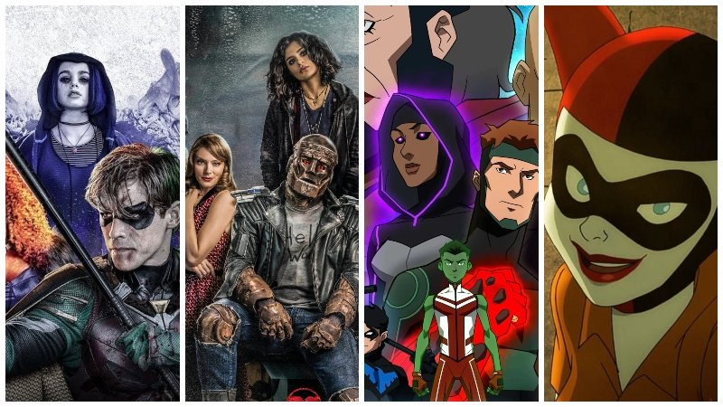 Comic-Con: Titans Season 2 Premiere, Young Justice & Doom Patrol Renewed!