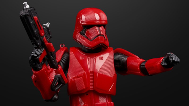 Rise of Skywalker Sith Trooper SDCC First Look & Merchandise Revealed