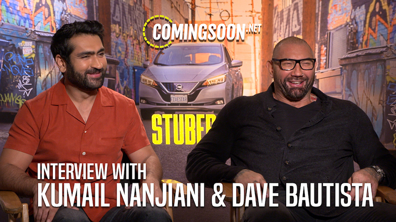 CS Video: Stars Kumail Nanjiani and Dave Bautista Talk Stuber