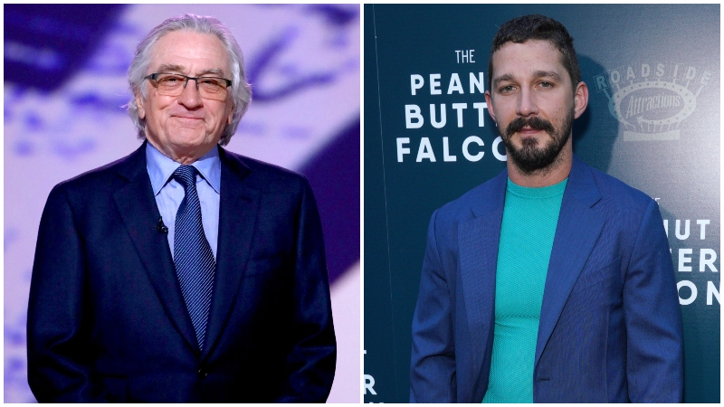 Robert De Niro and Shia LaBeouf to Star in Crime Drama After Exile