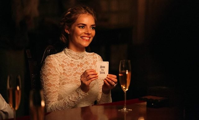 Samara Weaving Picks a Card in New Ready or Not Clip