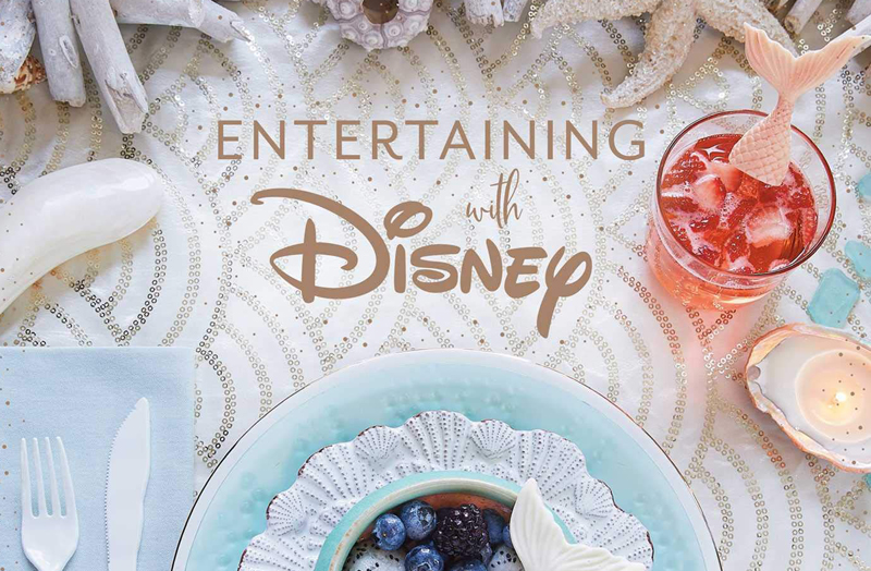 2 Exclusive Spreads From New Entertaining With Disney Book