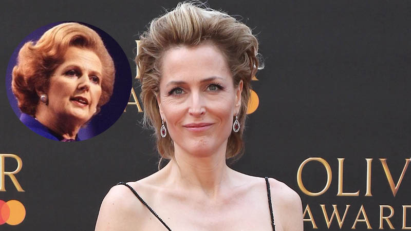 Gillian Anderson Joins The Crown Season 4 as Margaret Thatcher