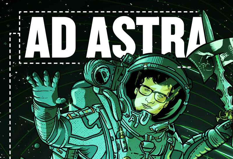 Fantasia 2019: Michael Gingold Talks New Book Ad Astra