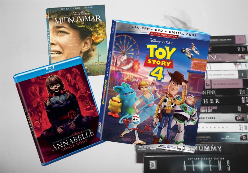 October 8 Blu-ray, Digital and DVD Releases
