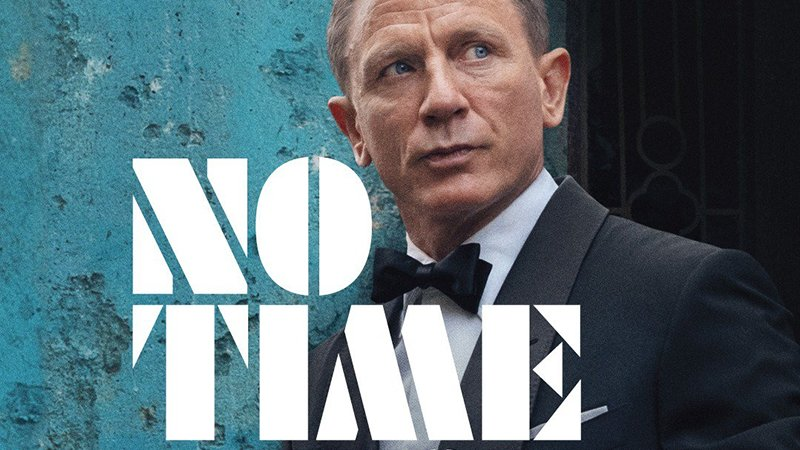 Daniel Craig is Back as Bond in No Time to Die Poster