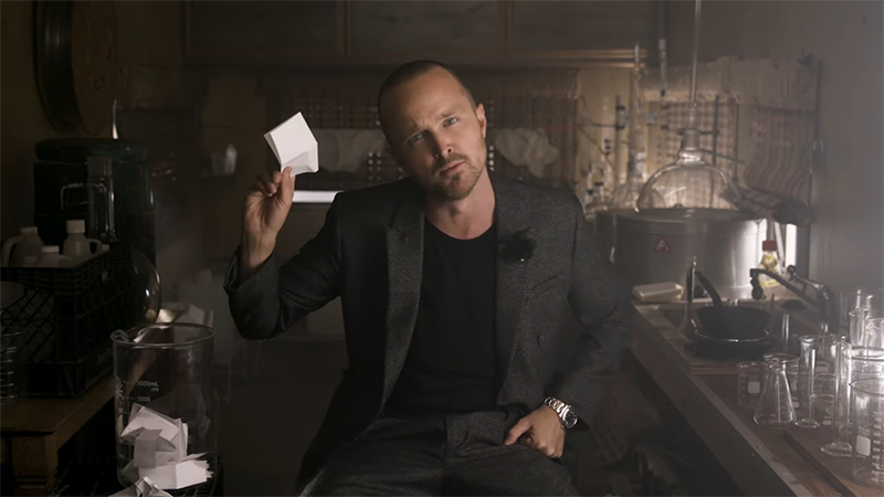 Aaron Paul Talks Breaking Bad Cult Following on Jimmy Kimmel
