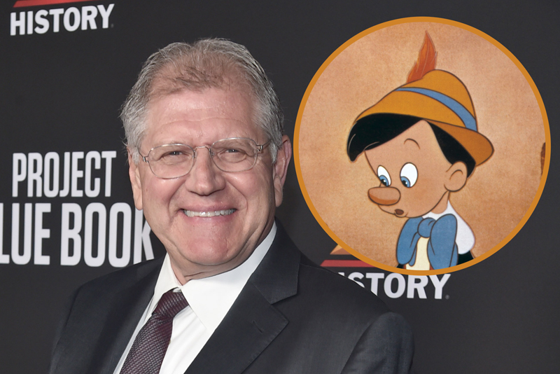 Robert Zemeckis in Talks to Direct Disney's Live-Action Pinocchio!