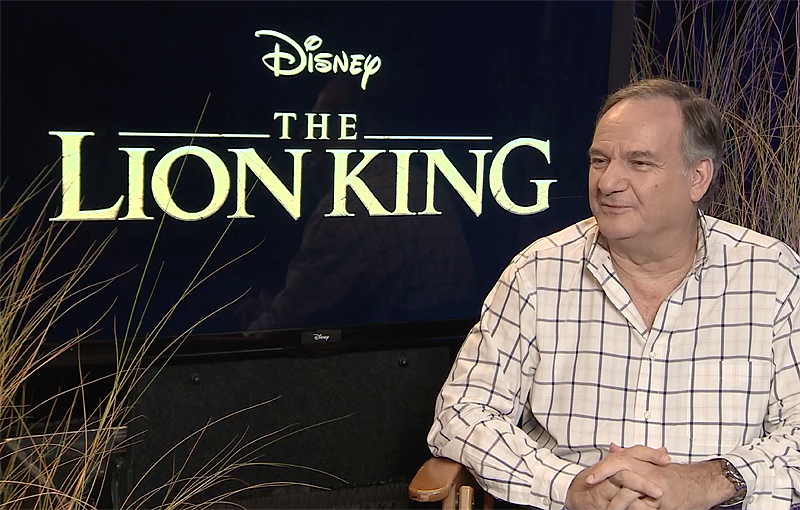 CS Video: Lion King Visual Effects Supervisor Rob Legato